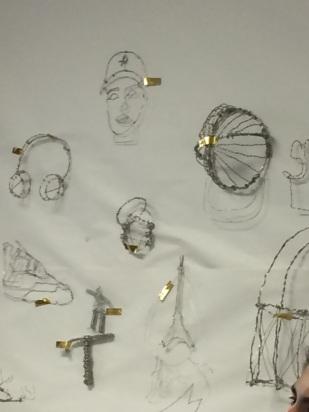 Wire sculptures 2